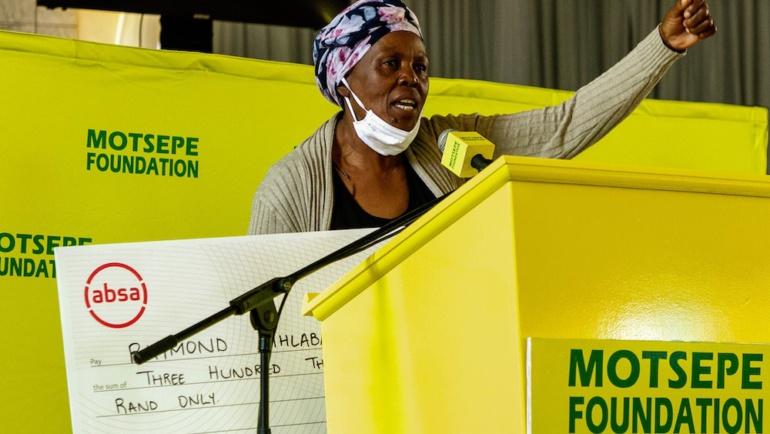 2020/2021 Motsepe Foundation National Roadshow: Soweto